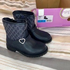 Toddler girls dress boots/booties